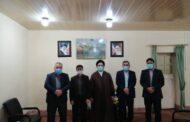 دیدار رئیس و اعضای شورای اسلامی شهر مسجدسلیمان با امام جمعه شهرستان