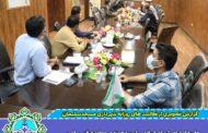 جلسه اعضای شورای اسلامی شهر با حوزه ی معاونت فنی و امور زیربنائی شهرداری در جهتِ بررسی های فنی و تخصصی پروژه های شهری
